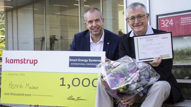 Professor Henrik Madsen awarded best Senior Presenter